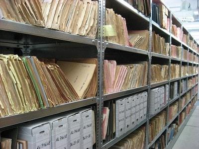 Papiergebunde Rechnungsaufbewahrung